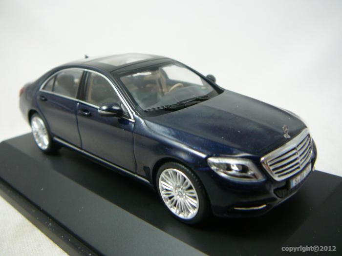 Mercedes Classe S  Bleu Metal