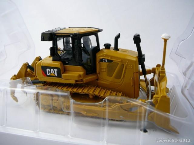 caterpillar cat d7e track type tractor avec electric drive miniature 1 50 norscot nor 55224. Black Bedroom Furniture Sets. Home Design Ideas