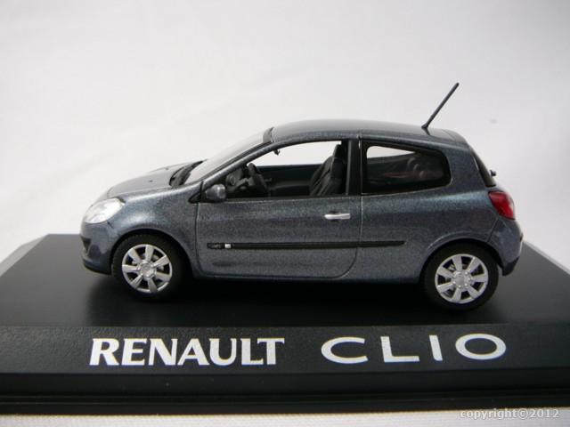 renault clio 3 3 portes miniature 1 43 norev no 517532 freeway01 voitures miniatures de. Black Bedroom Furniture Sets. Home Design Ideas