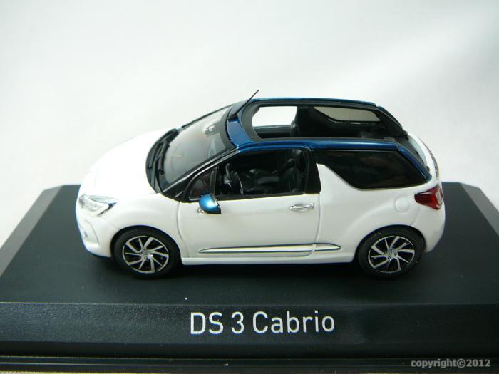 citroen ds3 cabriolet 2015 miniature 1 43 norev no 155298. Black Bedroom Furniture Sets. Home Design Ideas