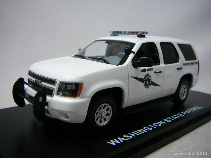 chevrolet tahoe washington state patrol 2011 miniature 1 43 first response re. Cars Review. Best American Auto & Cars Review
