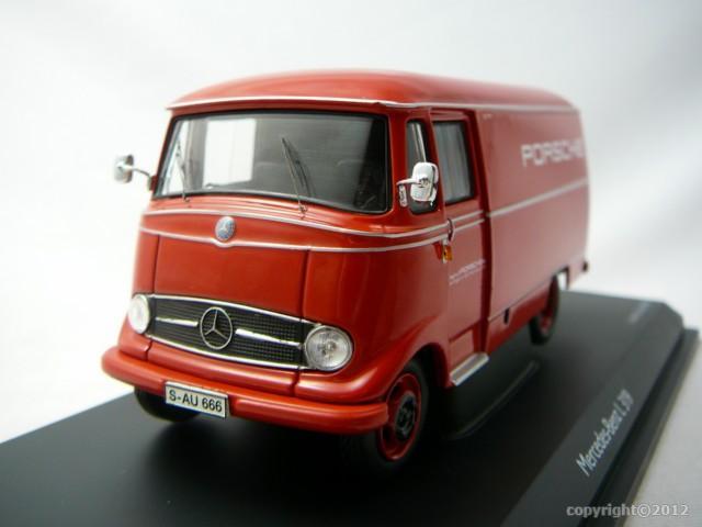 Mercedes benz l 319 assistance technique porsche miniature for Mercedes benz assistance
