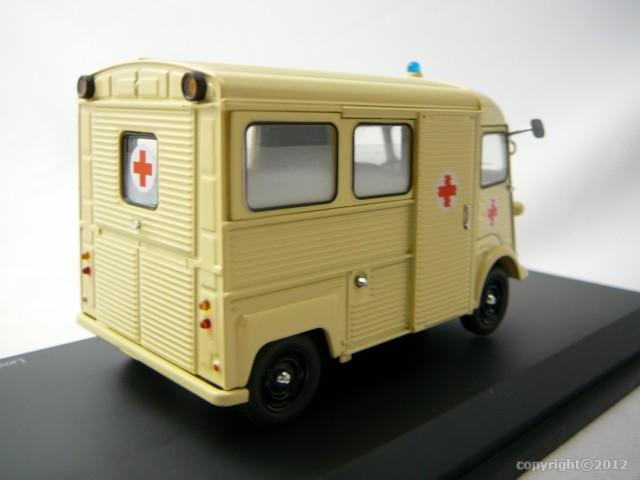 citroen hy croix rouge miniature 1 43 schuco sc 03505. Black Bedroom Furniture Sets. Home Design Ideas