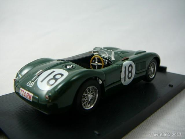 jaguar type c 1er le mans 1953 miniature 1 43 brumm br r358 freeway01 voitures miniatures de. Black Bedroom Furniture Sets. Home Design Ideas