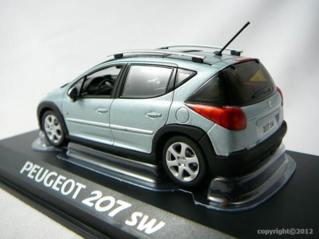 peugeot 207 sw miniature 1 43 norev no 472782 freeway01 voitures miniatures de collection de. Black Bedroom Furniture Sets. Home Design Ideas