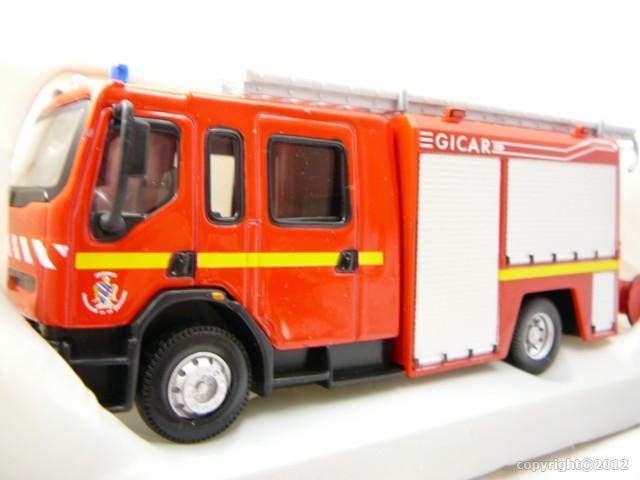 renault premium camion pompiers miniature 1 50 burago bur 32002 freeway01 voitures miniatures. Black Bedroom Furniture Sets. Home Design Ideas