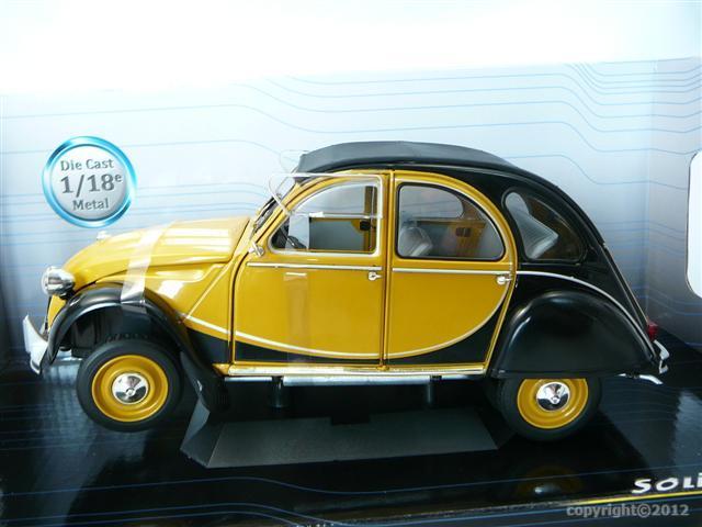 citroen 2cv charleston 1982 miniaure 1 18 solido so 1183510 freeway01 voitures miniatures de. Black Bedroom Furniture Sets. Home Design Ideas