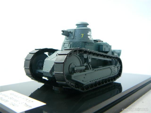 renault ft 17 tourelle berliet 37mm char de combat luftwaffe 1941 miniature 1 48 gasoline. Black Bedroom Furniture Sets. Home Design Ideas