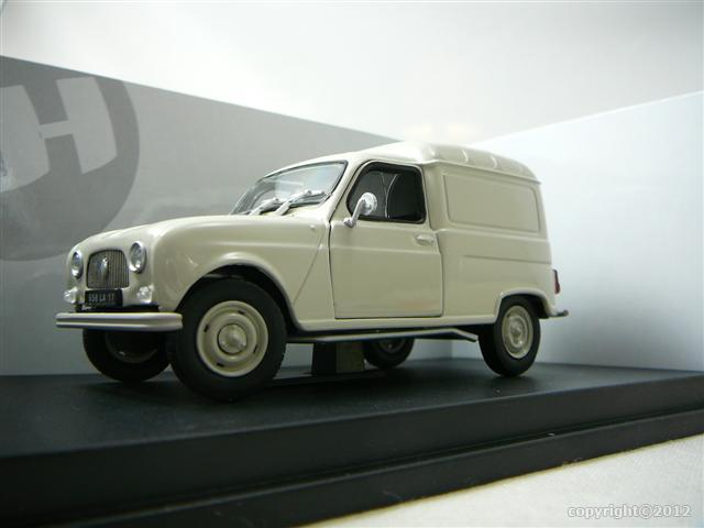 renault 4l f4 camionnette miniature 1 32 universal hobbies unh 6505 freeway01 voitures. Black Bedroom Furniture Sets. Home Design Ideas