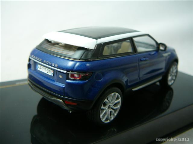 range rover evoque 2011 miniature 1 43 ixo ixo moc142. Black Bedroom Furniture Sets. Home Design Ideas