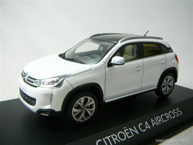 Citroen c4 aircross 2012 miniature 1 43 norev no 155461 for Avis citroen c4 aircross