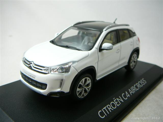 citroen c4 aircross 2012 miniature 1 43 norev no 155461 freeway01 voitures miniatures de. Black Bedroom Furniture Sets. Home Design Ideas