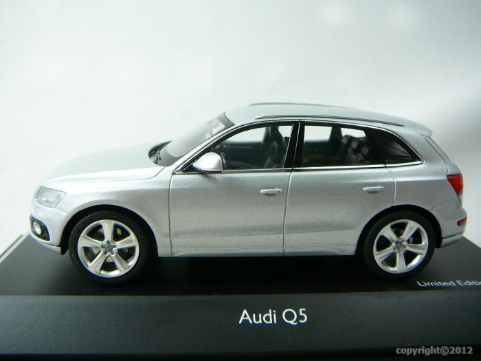 audi q5 2012 miniature 1 43 schuco sc 07562 freeway01 voitures miniatures de collection de. Black Bedroom Furniture Sets. Home Design Ideas