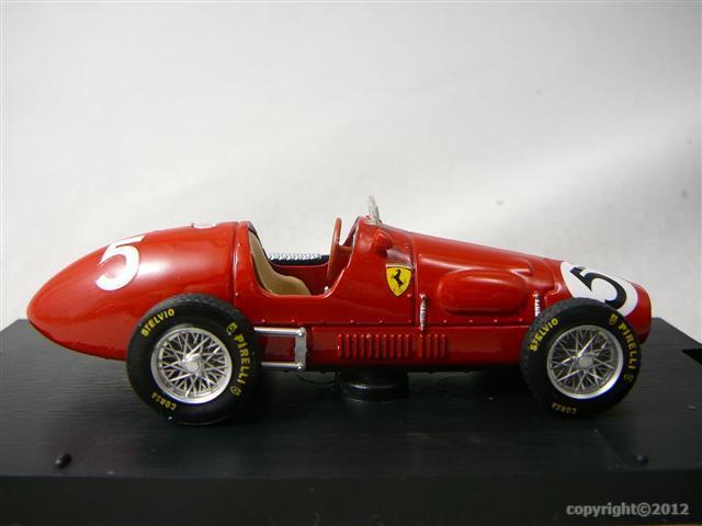 ferrari 500f2 vainqueur gp grande bretagne 1953 champion du monde miniature 1 43 brumm br r044. Black Bedroom Furniture Sets. Home Design Ideas