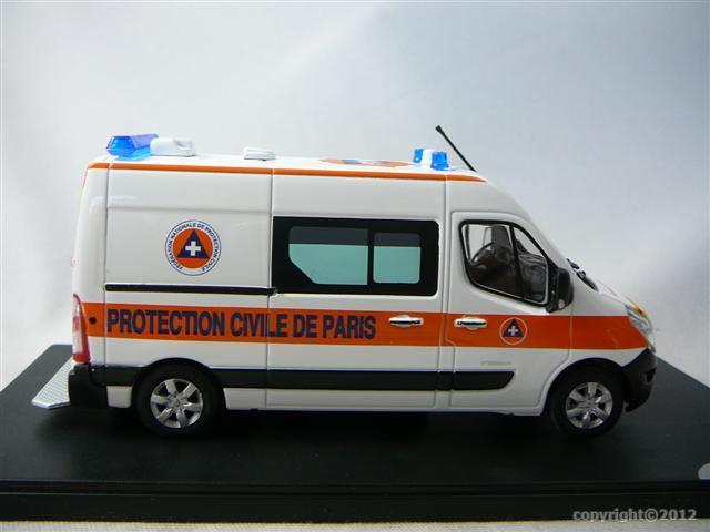 renault master 2010 protection civile de paris miniature 1 43 eligor el 114889 freeway01. Black Bedroom Furniture Sets. Home Design Ideas