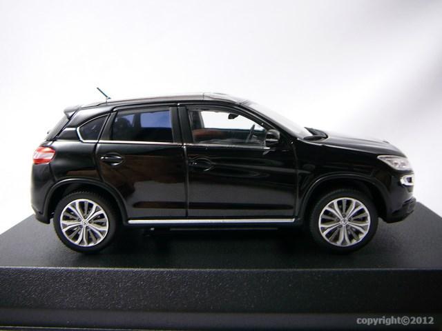 miniature voiture 4x4 peugeot 4008 2012 norev. Black Bedroom Furniture Sets. Home Design Ideas