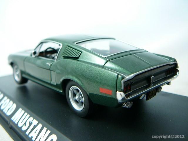 miniature voiture mustang gt bullitt 1968 greenlight. Black Bedroom Furniture Sets. Home Design Ideas