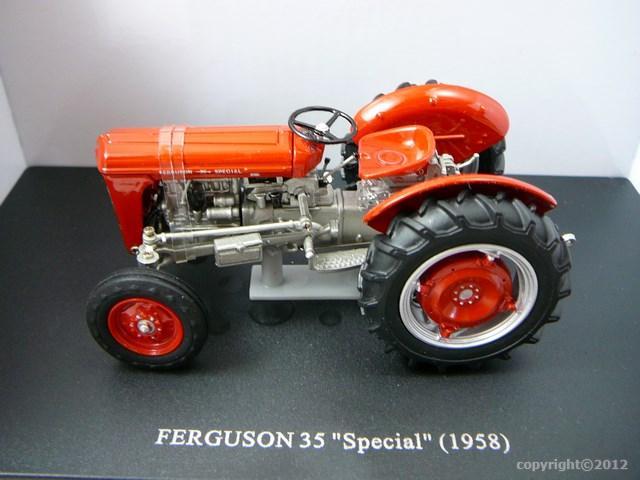 Massey Ferguson 35 Special : Miniature massey ferguson special tracteur agricole