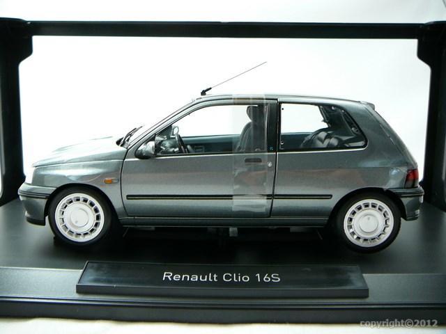 miniature renault clio 16s 1991 norev. Black Bedroom Furniture Sets. Home Design Ideas