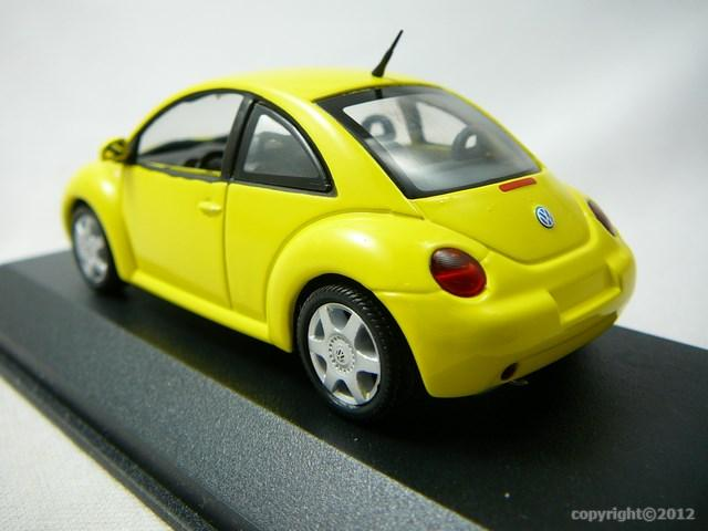miniature voiture volkswagen new beetle minichamps. Black Bedroom Furniture Sets. Home Design Ideas