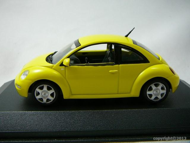 miniature voiture volkswagen new beetle minichamps. Black Bedroom Furniture Sets. Home Design Ideas