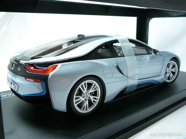 miniature voiture bmw i8 coup hybride paragon. Black Bedroom Furniture Sets. Home Design Ideas