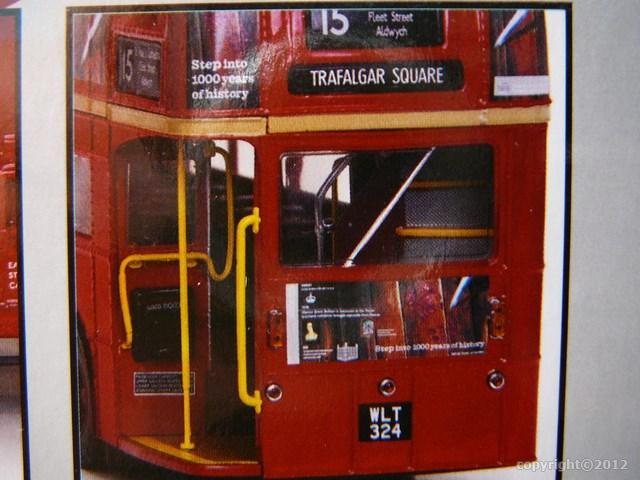 miniature bus imp riale aec routemaster londres sun star. Black Bedroom Furniture Sets. Home Design Ideas