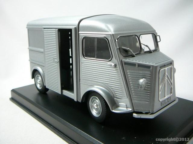 miniature fourgon citroen type h replicagri. Black Bedroom Furniture Sets. Home Design Ideas