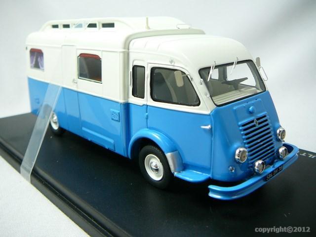 miniature fourgon renault r2060 goelette camping car notin 1951 perfex. Black Bedroom Furniture Sets. Home Design Ideas