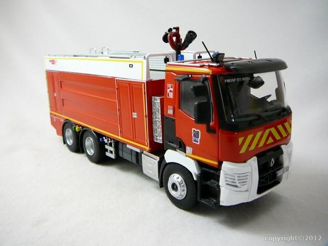 miniature renault c380 fmogp jacinto camion pompiers eligor. Black Bedroom Furniture Sets. Home Design Ideas