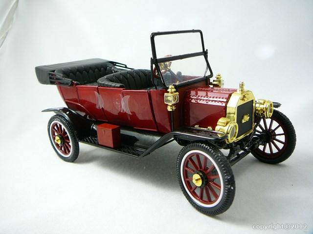 Miniature Ford Model T Roadster Convertible 1917 Motor