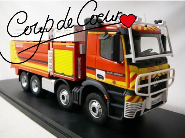 Miniatures camion de pompier coup de cœur