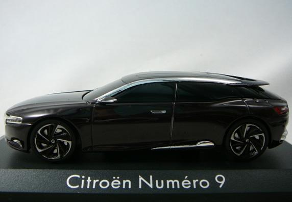 Concept car miniature Citroën