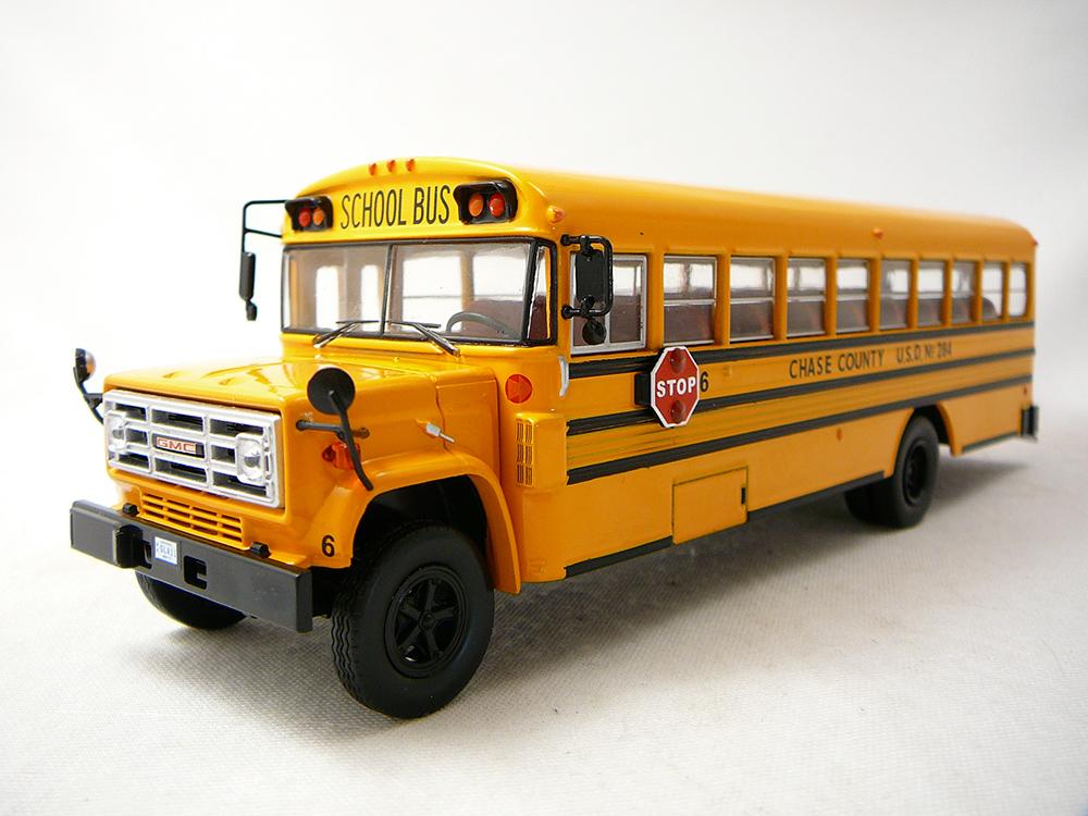 Miniature bus scolaire