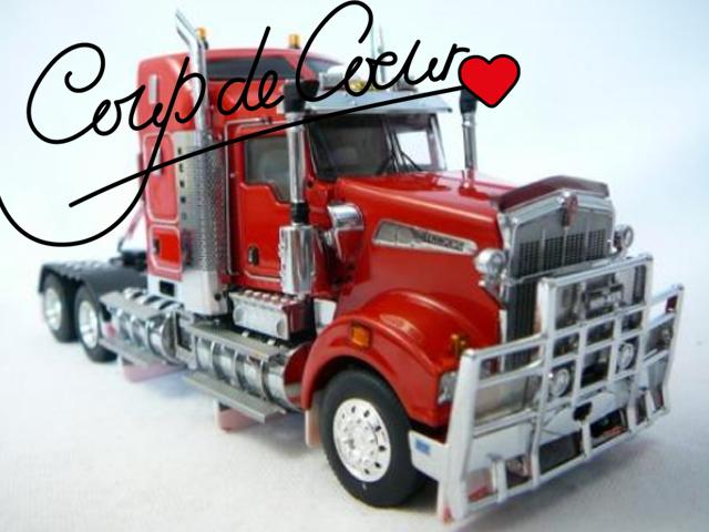 Miniatures camion coup de cœur