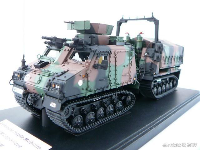 Véhicule miniature militaire