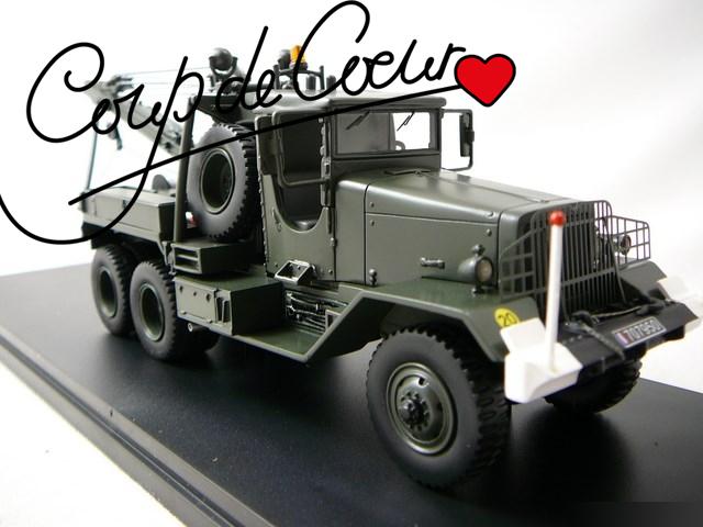 Miniatures camion militaire