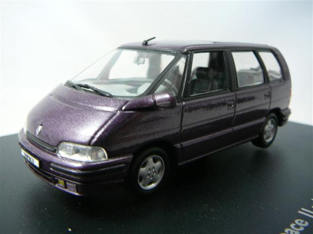 Renault Espace Ii 1991 1996 Miniature 1 43 Universal Hobbies Unh