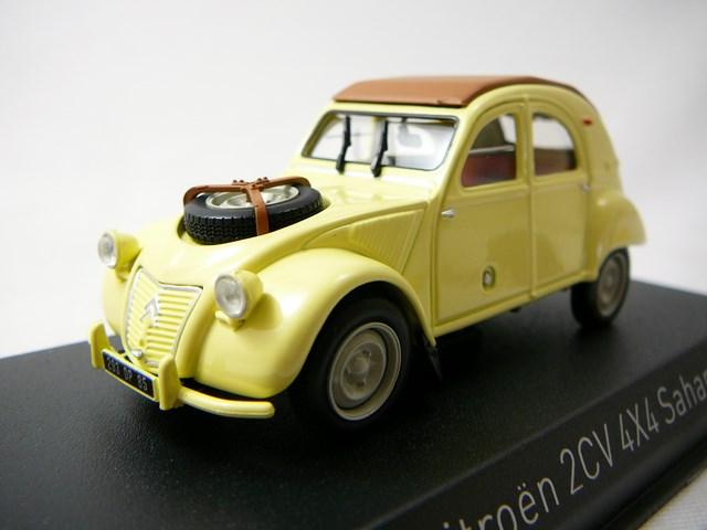 miniature citroen 2cv 4x4 sahara 1961 norev