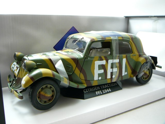 miniature citroen traction 11cv ffi 1944 solido