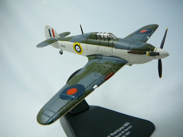 Miniature Hawker Hurricane