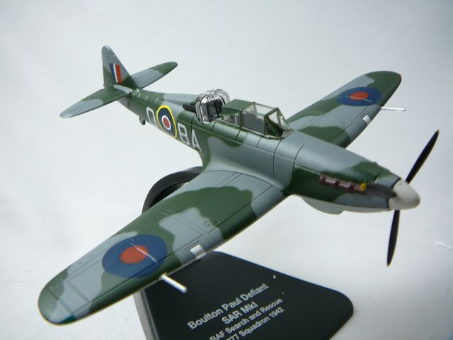 Miniature Boulton Paul Defiant