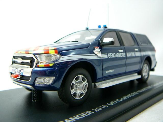 miniature ford ranger 2016 gendarmerie maritime alarme. Black Bedroom Furniture Sets. Home Design Ideas
